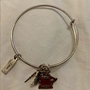 Alex and Ani SEWER-QUILTER bracelet